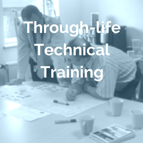 Through-life technical training
